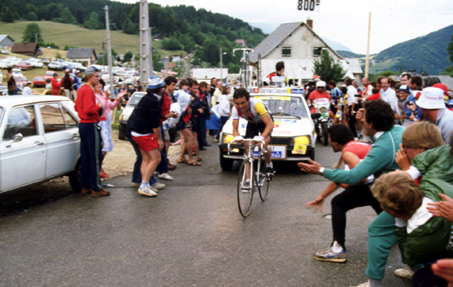 Bernard Hinault in the 1984 Tour de France