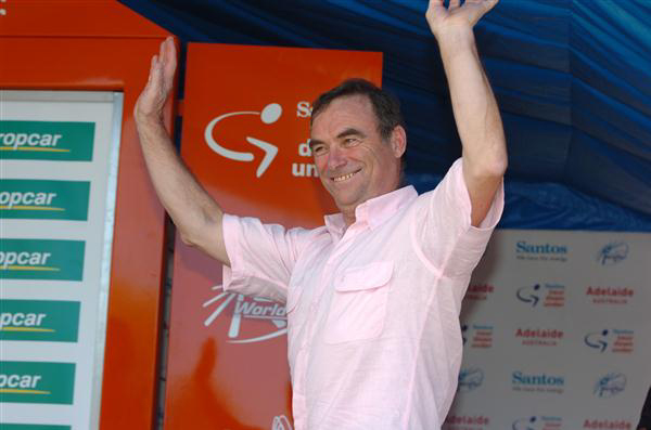Bernard Hinault at the 2013 Tour Down Under