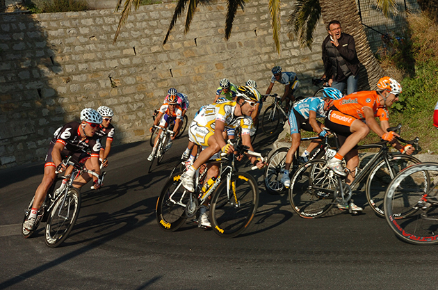 Hincapie in the 2009 Milano-San Remo