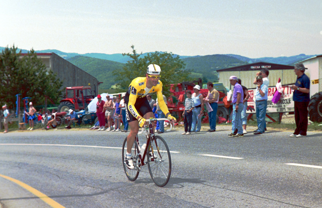 Laurent Jalabert at the 1992 Giro