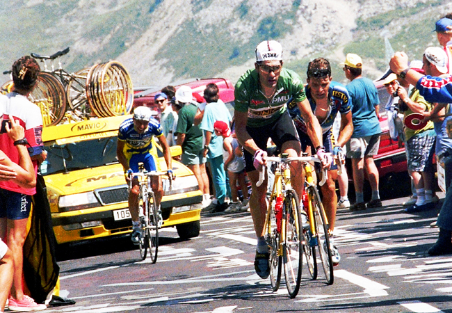Jalabert in the 1995 Tour de France