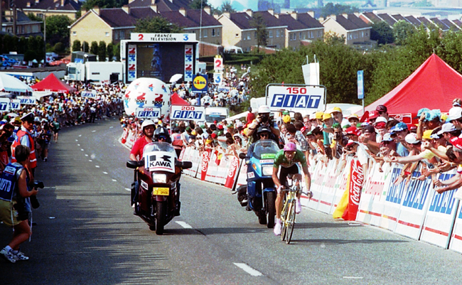 Laurent Jalabert in the 1995 Tour de France