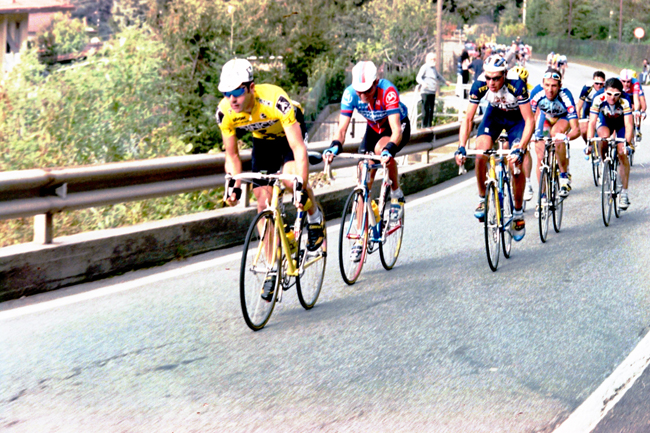 Laurent Jalabert in the 1996 Giro di lombardia