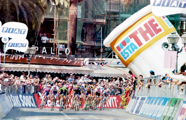 Jalabert in stage 13 of the 1999 Giro d'Italia