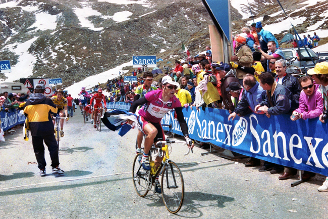 Jalabert in stage 21 of the 1999 Giro