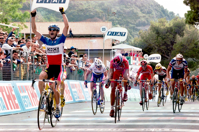 Laurent Jalabert wins stage 4 of the 1999 Giro d'Italia
