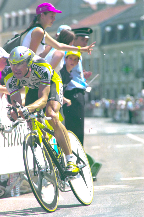 Jlabert time trials in the 2000 Tour