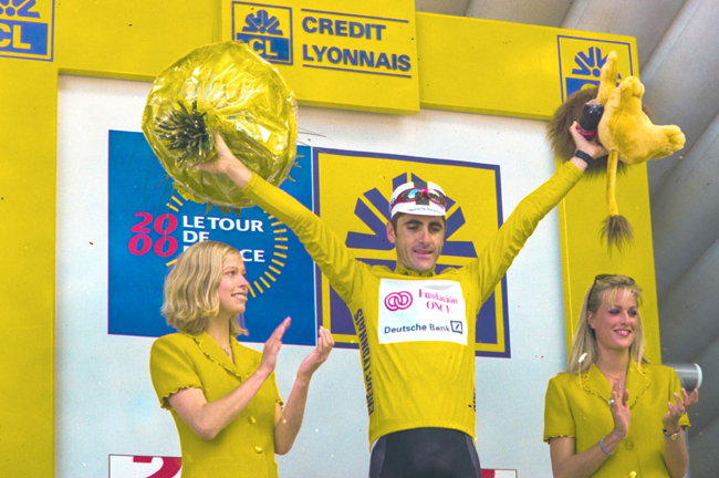 Jalabert in yellow