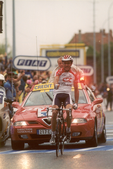 Jalabert wins stage 7 of the 2001 Tour de france