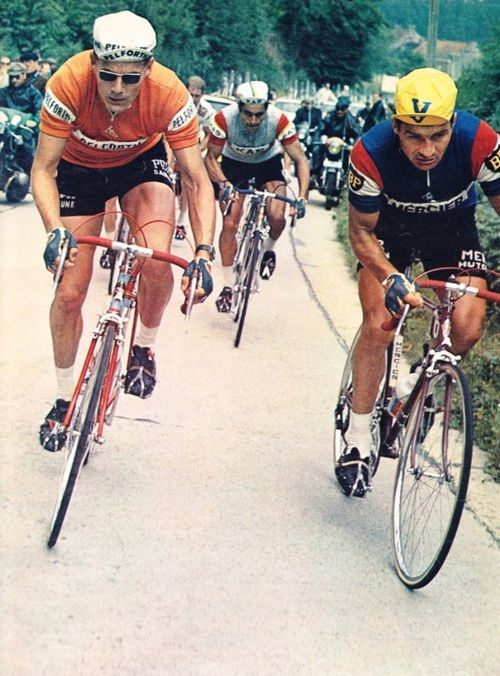 Jan Janssen and Raymond Poulidor
