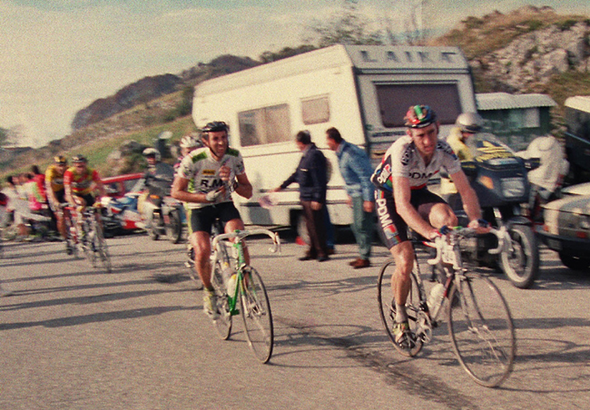 Kelly in the 1990 Giro di lombardia