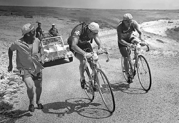 Louison Bobet and Ferdy Kubler