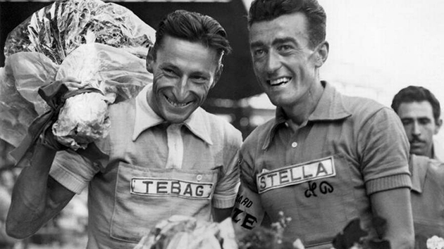 Ferdy Kubler and Louison Bobet