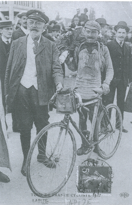 Octave Lapize wins the 1910 Tour de France