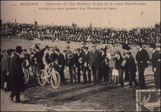 Lapize wins the 1910 Paris-Roubaix