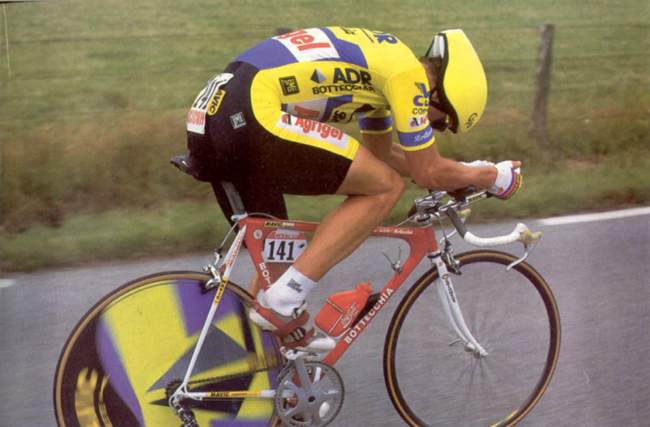 Lemond in stage 4 of the 1989 Tour