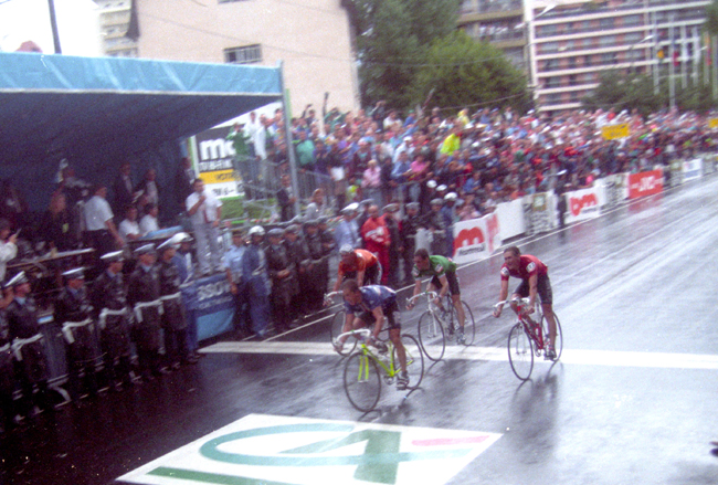 Greg LeMonds wins the 1989 World Road Cycling Championships