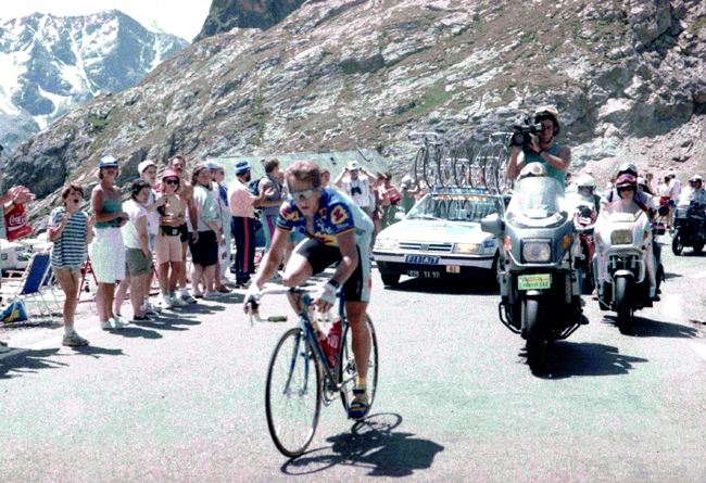 LeMond in stage 14 of the 1992 Tour de France