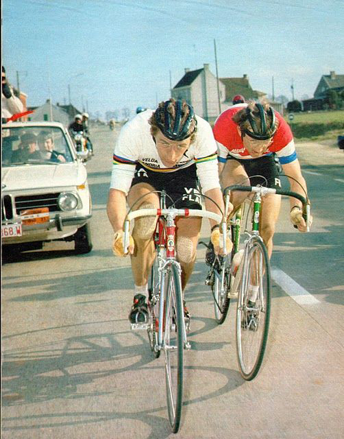 Freddy Maertens and Jan Raas