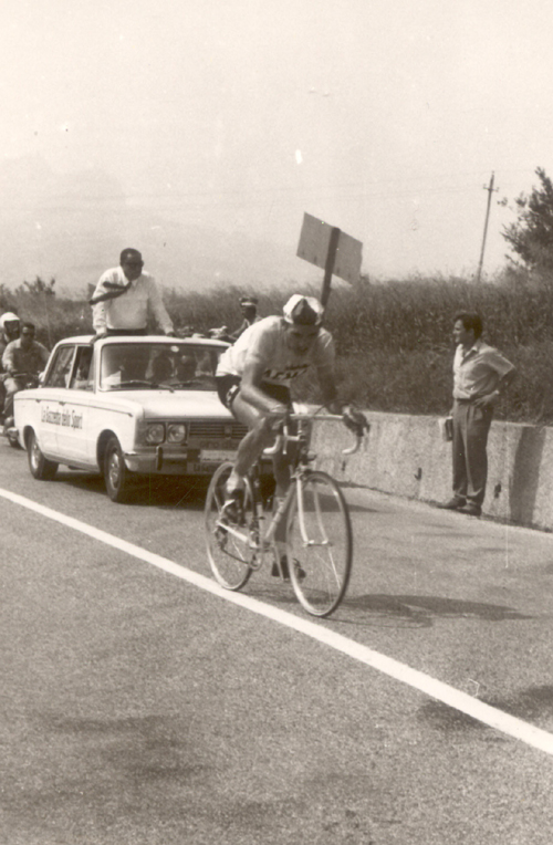 Eddy Merckx in the 1968 Giro d'Italia