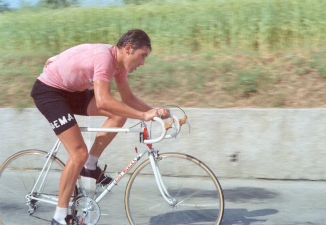 Eddy Mercix in the 1969 Giro