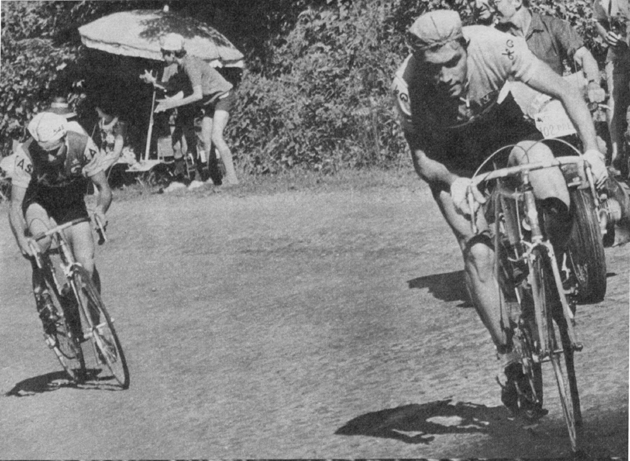 Eddy Merckx in the 1969 Tour de France