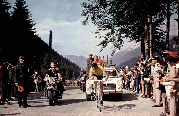 Eddy Merckx in the 1970 Tour de France
