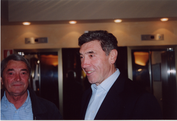 Michele Dancelli and Eddy Merckx