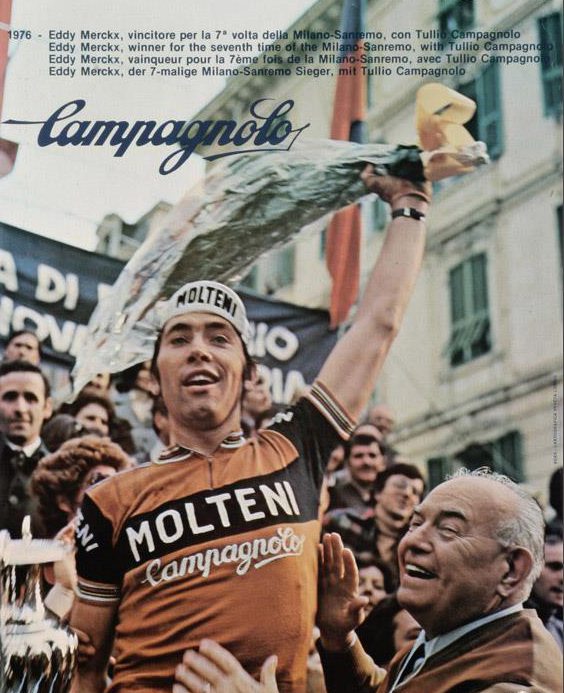 Eddy Merckx and Tullio Campagnolo