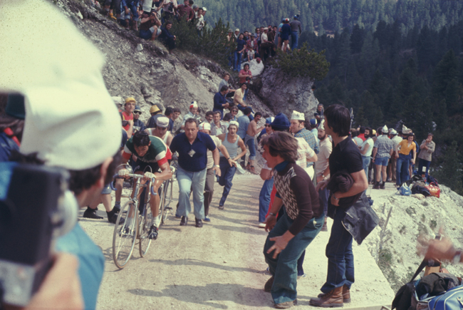 Francesco Moser in the 1976 Giro