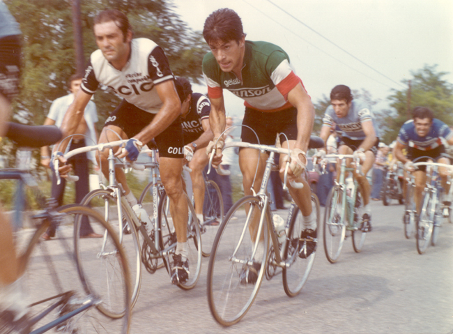 Francesco Moser in the 1976 Coppa Placci