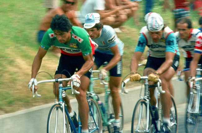 Francesco Moser at the 1981 Coppa Placci
