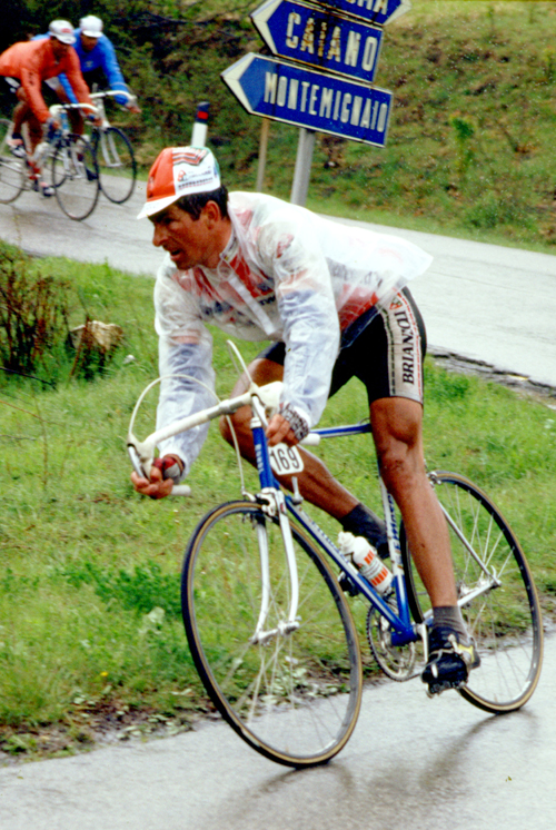 Moser at the 1987 Giro di Toscana