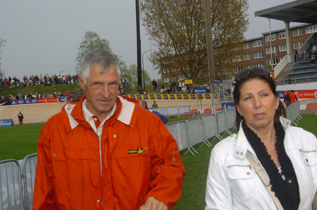 The Mosers at the 2009 Paris-Roubaix