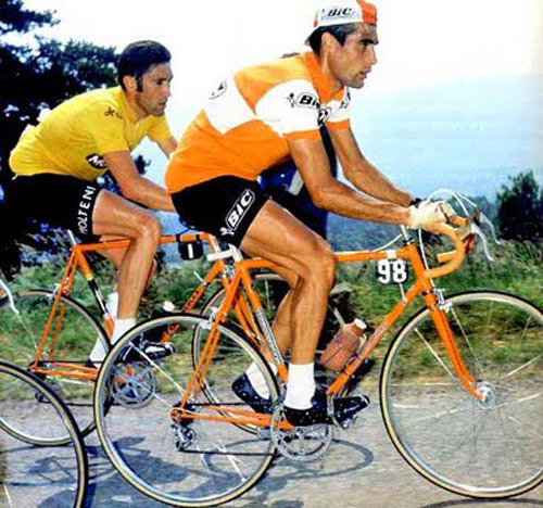 Luis ocana and Eddy MErckx