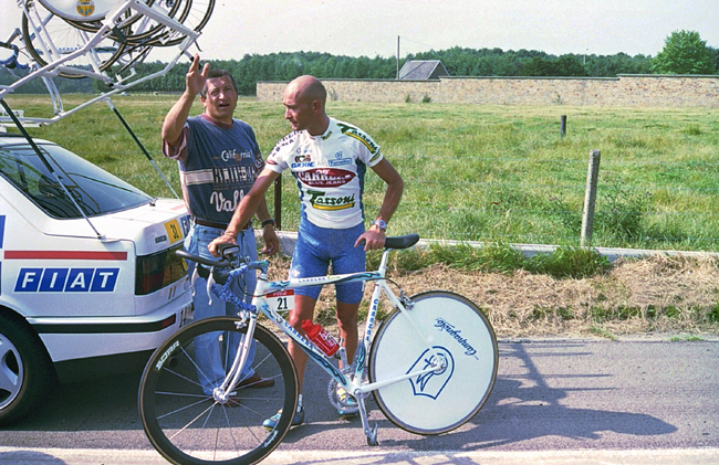 Marco patani at the 1995 Tour de France