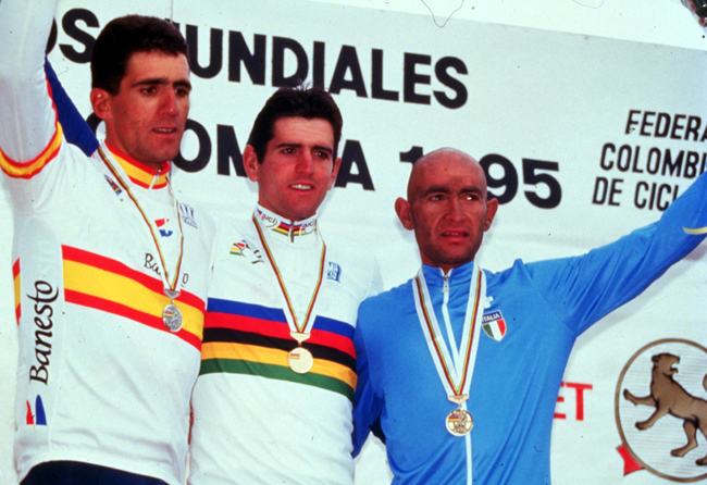 1995 World podium