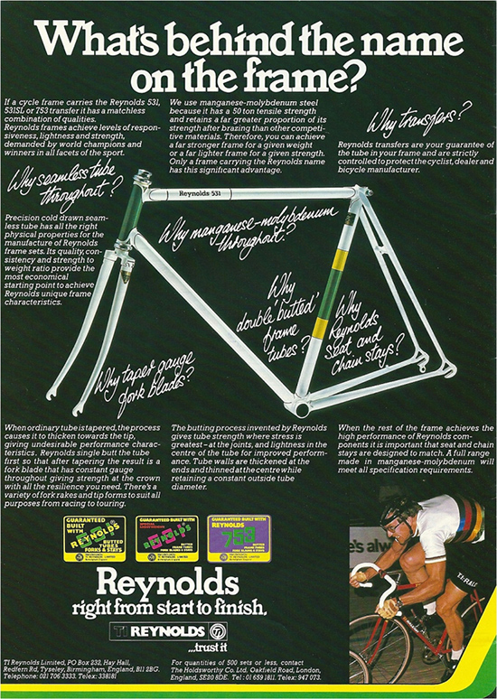 Raleigh Catalogue page