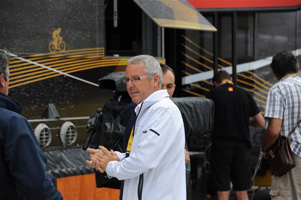 Stephen Roche at the 2013 Tour de France