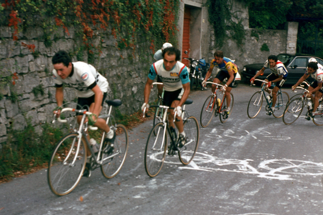 Roche at the Giro di Lombardia