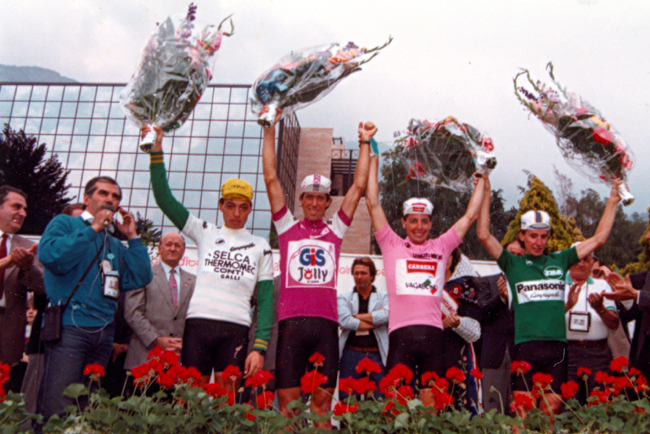 1987 Giro final classification winners