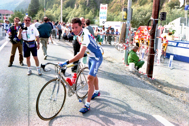 Roche at the 1993 Tour de France
