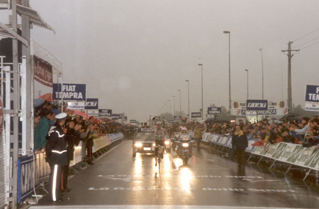 Tony Rominger wins the 1992 Giro di Lombardia