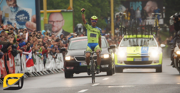 Peter Sagan wins Slovak champs