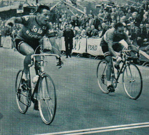 1963 Tour de France, Van der kerkhove and Stablinski