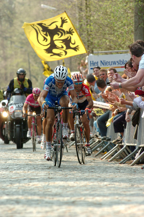 Peter van Petegem and Tom Boonen
