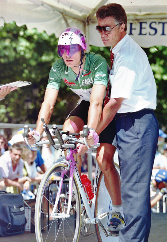 Erik Zabel at the 1996 Tour de France