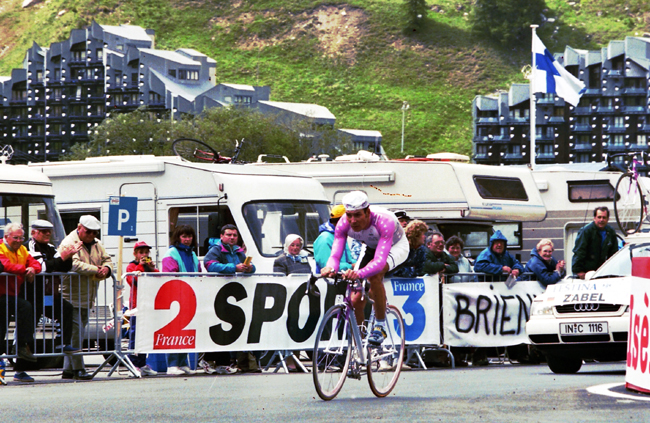 Erik Zabel in the 1996 Tour de France