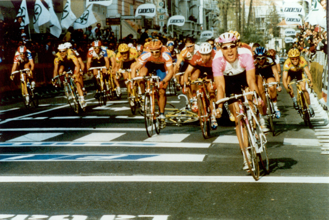 Erik Zabel wins the 1997 Milano-San Remo