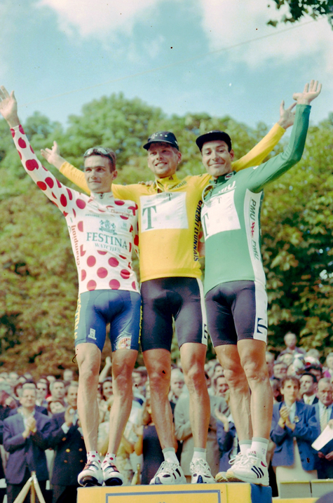 1997 Tour de france classification winners